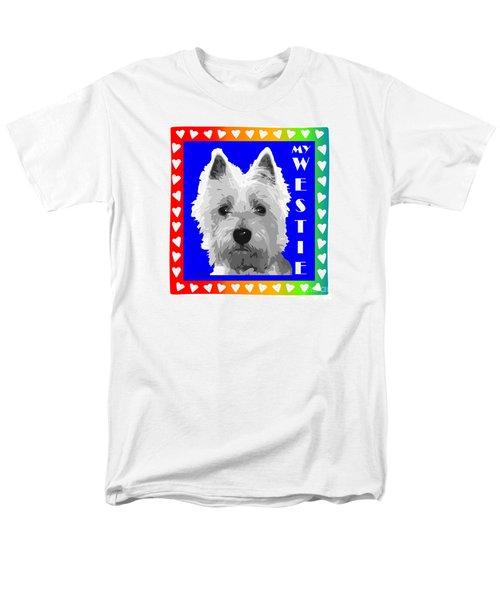 Westie Tshirt Men's T-Shirt  (Regular Fit)