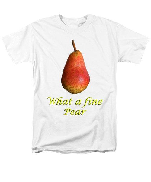 What A Fine Pear Men's T-Shirt  (Regular Fit) by Gillian Singleton