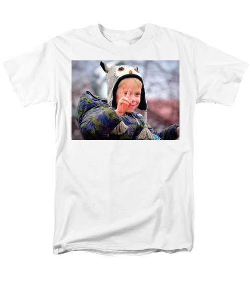 Men's T-Shirt  (Regular Fit) featuring the photograph What The World Needs Now by Barbara Dudley