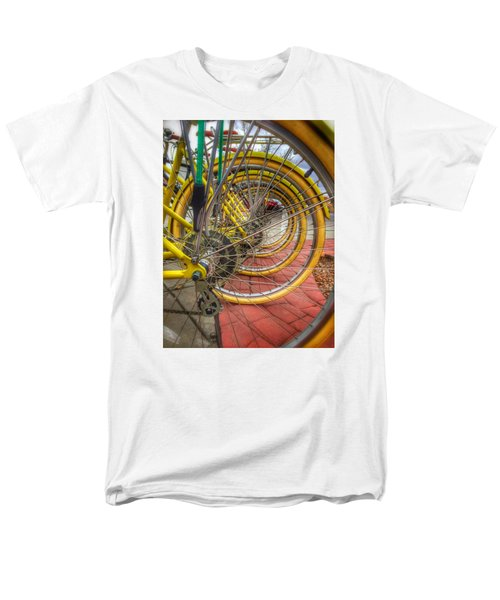 Wheels Within Wheels Men's T-Shirt  (Regular Fit) by Mark David Gerson