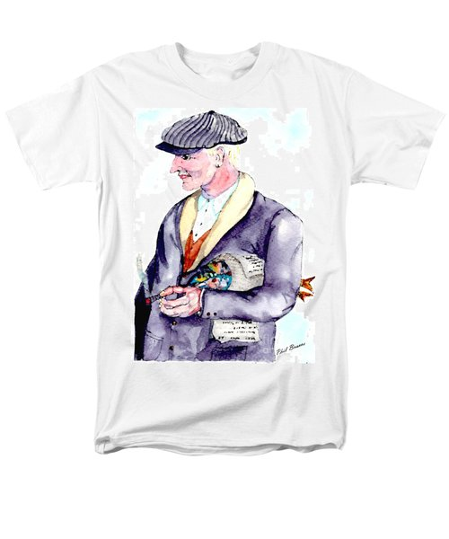When Fish Were Wrapped In Newspaper Men's T-Shirt  (Regular Fit)