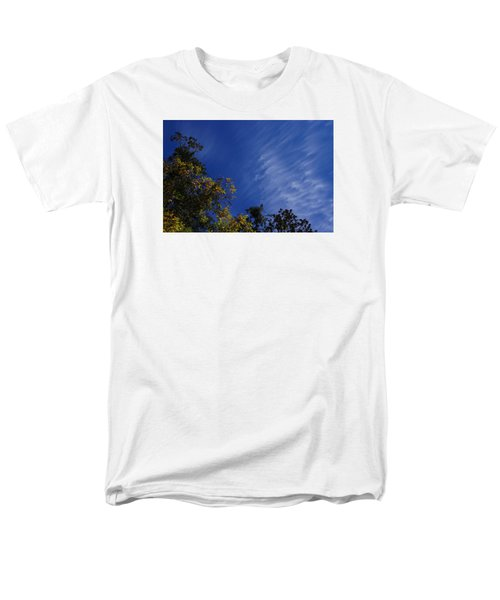 Whispy Clouds Men's T-Shirt  (Regular Fit) by Adria Trail