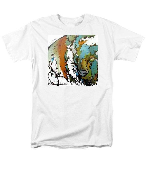 White Lightning Men's T-Shirt  (Regular Fit) by Nicole Gaitan