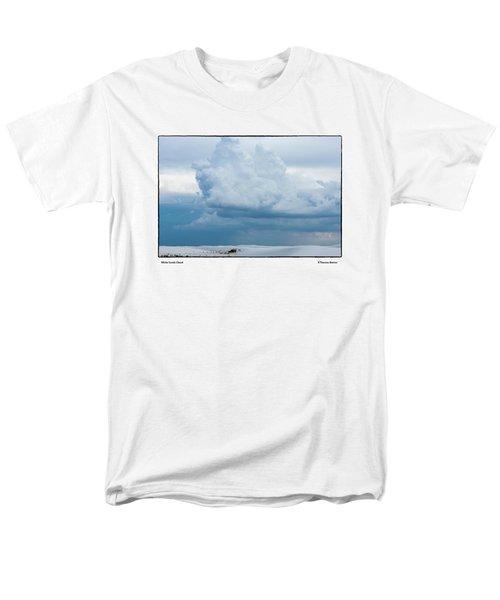 White Sands Cloud Men's T-Shirt  (Regular Fit) by R Thomas Berner