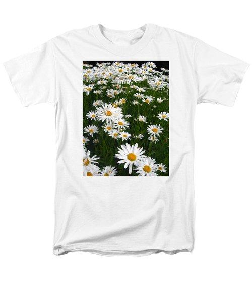 Wild Daisies Men's T-Shirt  (Regular Fit) by Dorothy Cunningham