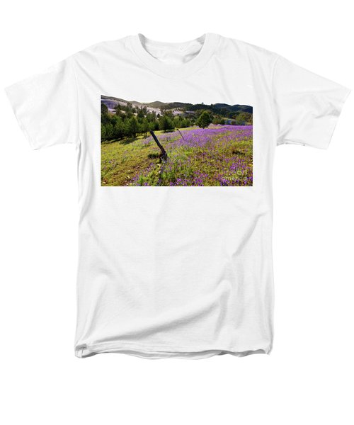 Men's T-Shirt  (Regular Fit) featuring the photograph Willow Springs Station by Bill Robinson