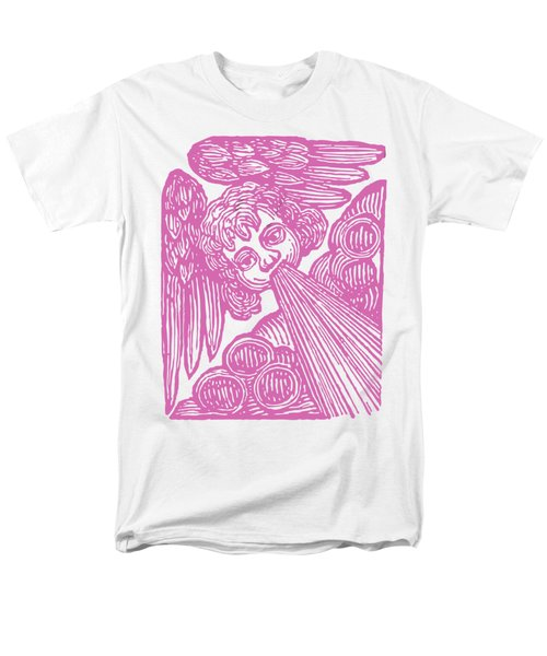 Men's T-Shirt  (Regular Fit) featuring the drawing Winds Tess by Edward Fielding