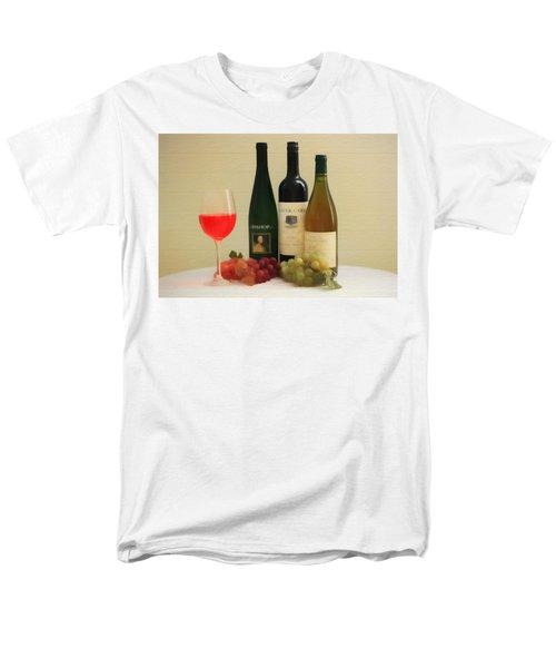 Wine Display Barn Door  Men's T-Shirt  (Regular Fit) by Dan Sproul