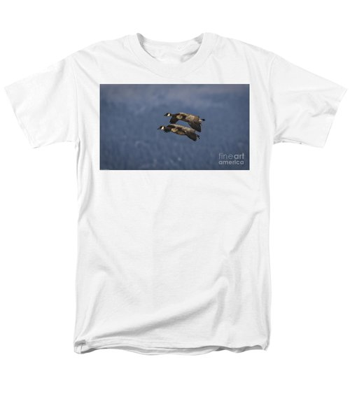 Men's T-Shirt  (Regular Fit) featuring the photograph Wingman  by Mitch Shindelbower