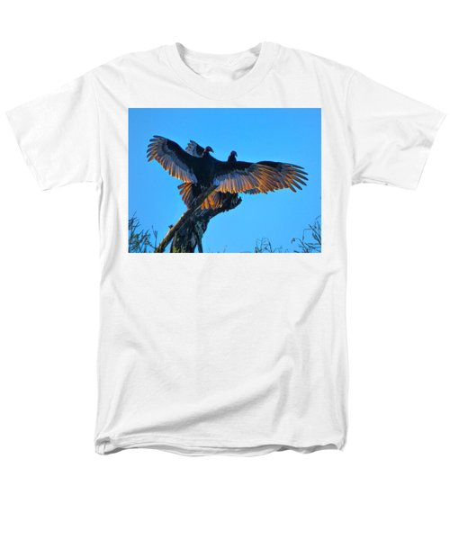 Wings Of Gold Men's T-Shirt  (Regular Fit) by Kimo Fernandez