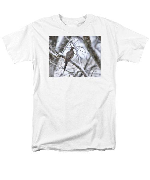 Winter Admiration Men's T-Shirt  (Regular Fit) by Kerri Farley