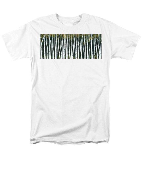 Winter Aspen 3 Men's T-Shirt  (Regular Fit) by Michael Swanson