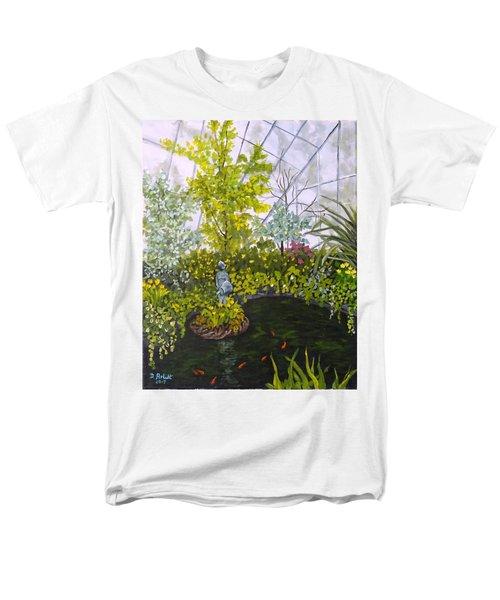 Winter At Allan Gardens Men's T-Shirt  (Regular Fit) by Diane Arlitt