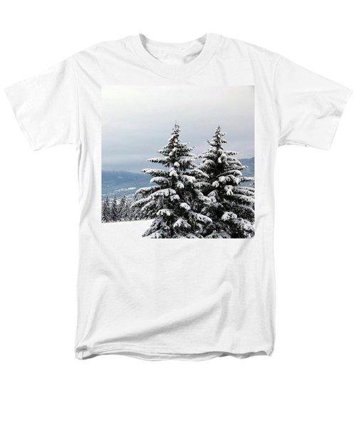 Men's T-Shirt  (Regular Fit) featuring the photograph Winter Bliss by Will Borden