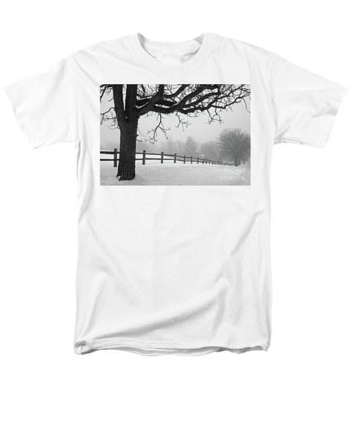Winter Fog Men's T-Shirt  (Regular Fit) by Kevin McCarthy