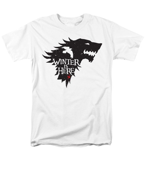Winter Is Here Men's T-Shirt  (Regular Fit)