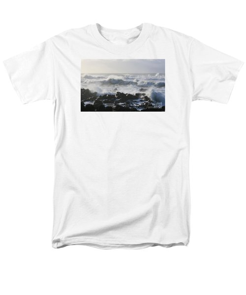 Men's T-Shirt  (Regular Fit) featuring the photograph Winter Sea by Jeanette French