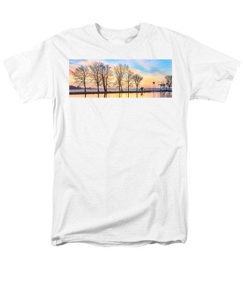 Winter Sunrise  Men's T-Shirt  (Regular Fit)