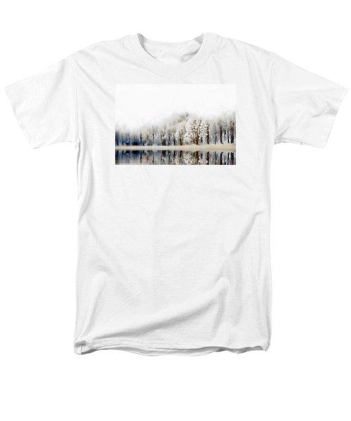 Winterscape  Men's T-Shirt  (Regular Fit) by Andrea Kollo