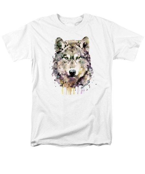Wolf Head Men's T-Shirt  (Regular Fit)