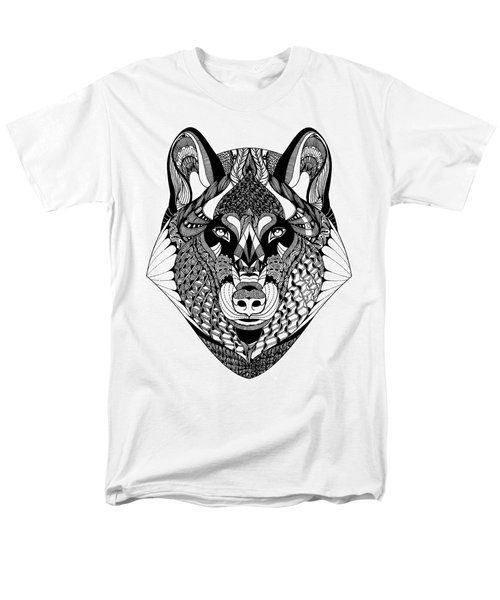Wolf Men's T-Shirt  (Regular Fit) by Jan Steinle