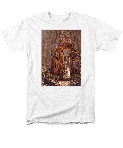 Wonders Door To The Luxor Men's T-Shirt  (Regular Fit) by Te Hu