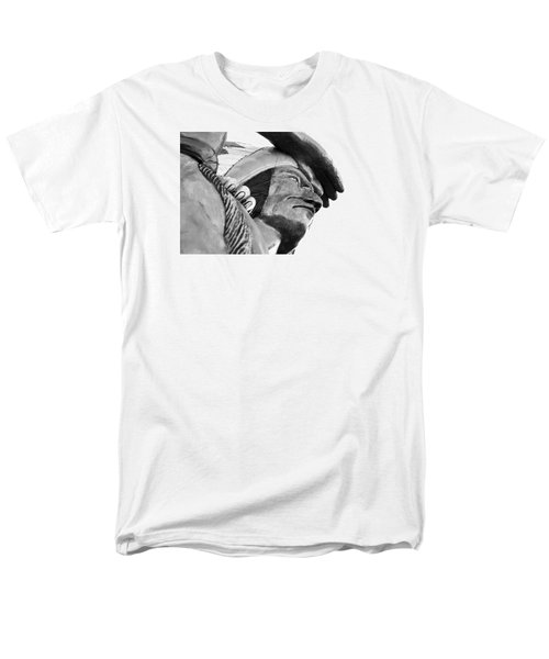 Men's T-Shirt  (Regular Fit) featuring the photograph Wooden Indian by Bob Pardue