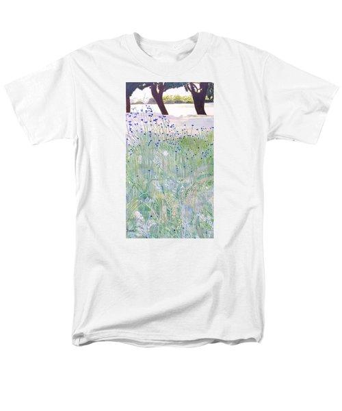 Woodford Park In Woodley Men's T-Shirt  (Regular Fit) by Joanne Perkins