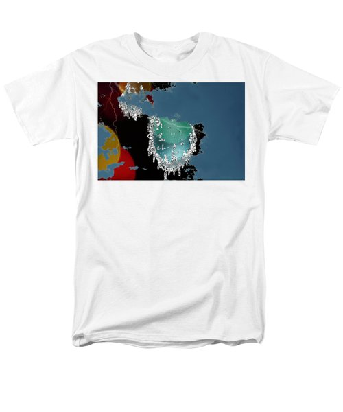 World Where Are You Men's T-Shirt  (Regular Fit)