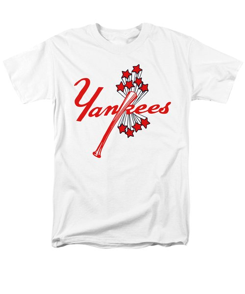 Men's T-Shirt  (Regular Fit) featuring the digital art Yankees Vintage by Gina Dsgn