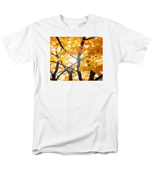 Men's T-Shirt  (Regular Fit) featuring the photograph Yellow Light by Patricia Arroyo