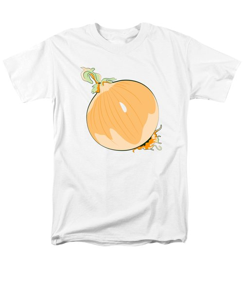 Yellow Onion Men's T-Shirt  (Regular Fit) by MM Anderson