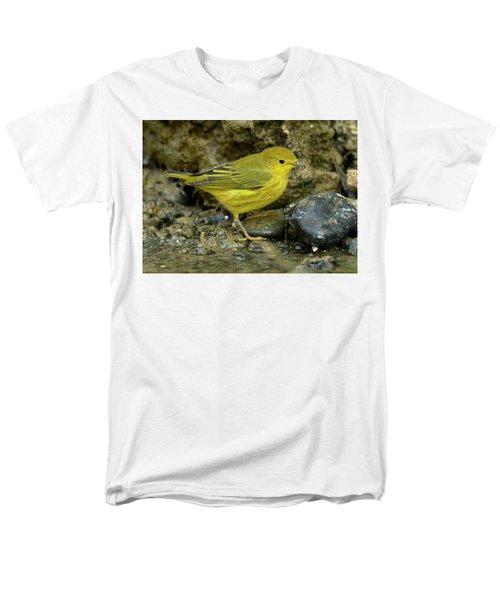 Yellow Warbler Men's T-Shirt  (Regular Fit) by Doug Herr