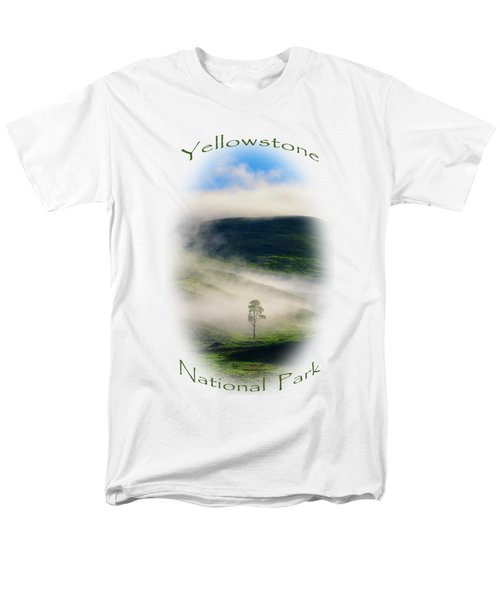 Men's T-Shirt  (Regular Fit) featuring the photograph Yellowstone T-shirt by Greg Norrell