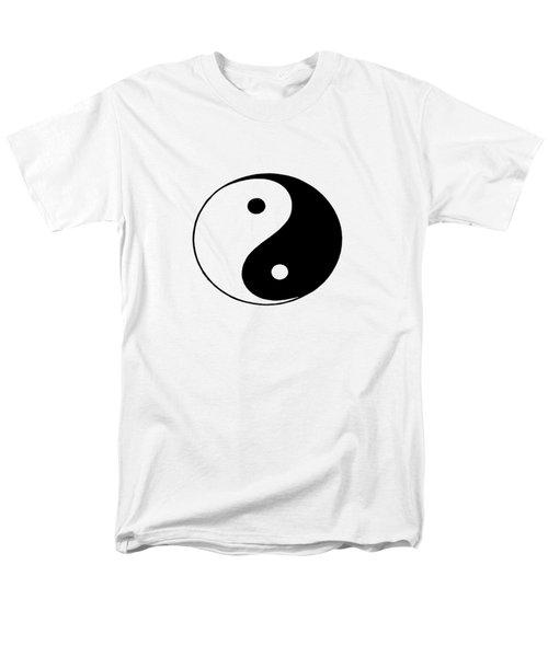 Yin And Yang Men's T-Shirt  (Regular Fit) by Pat Cook