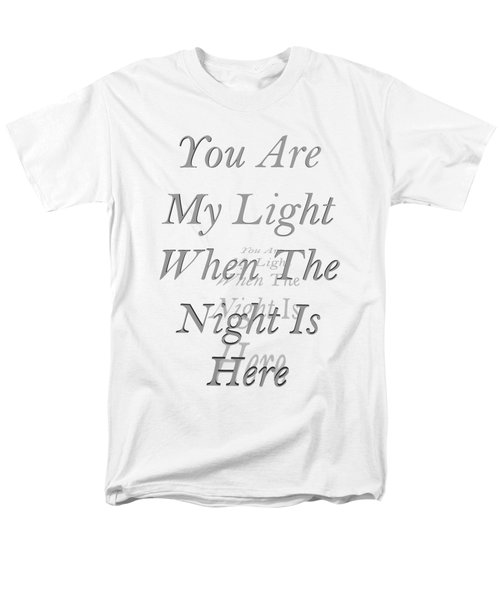 You Are My Light Men's T-Shirt  (Regular Fit) by Steve Taylor