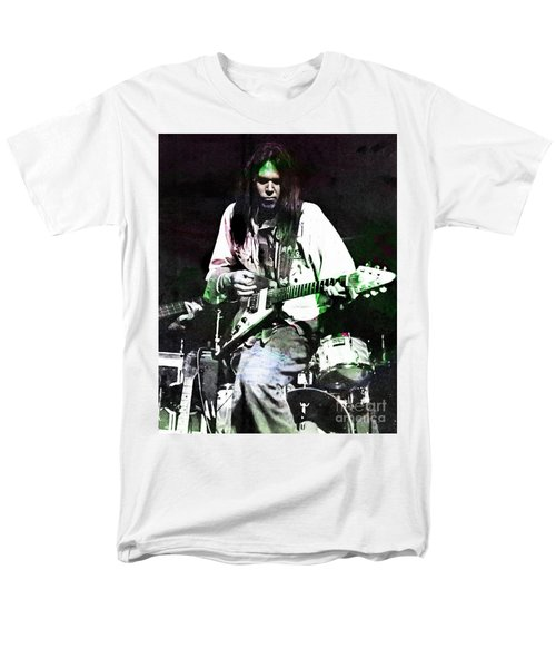 Young Neil Men's T-Shirt  (Regular Fit) by John Malone