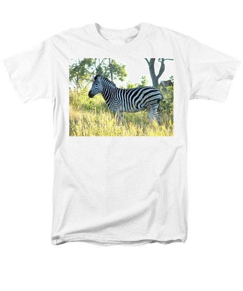 Young Zebra Men's T-Shirt  (Regular Fit) by Bruce W Krucke