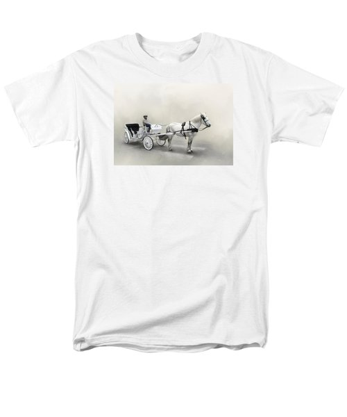 Your Carriage Awaits Men's T-Shirt  (Regular Fit) by David and Carol Kelly