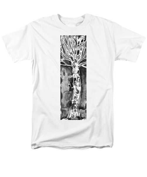 Men's T-Shirt  (Regular Fit) featuring the painting Youth by Carol Rashawnna Williams