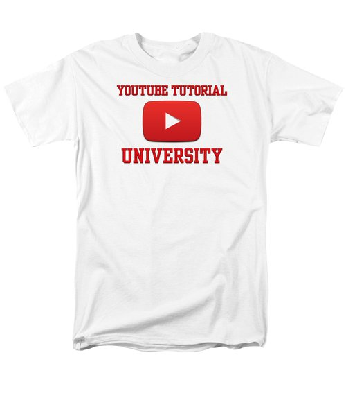 Youtube University Men's T-Shirt  (Regular Fit) by Donald Lawrence