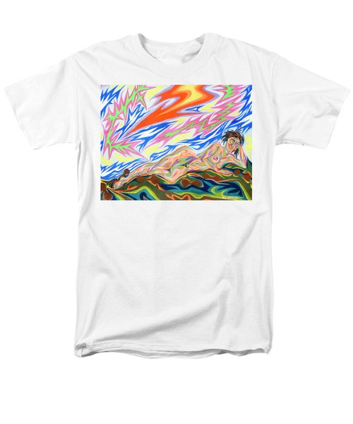 Zapped Men's T-Shirt  (Regular Fit) by Robert SORENSEN