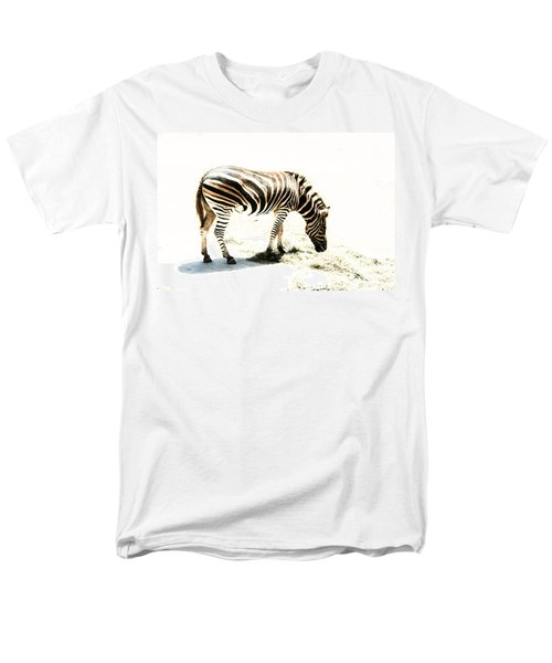 Men's T-Shirt  (Regular Fit) featuring the photograph Zebra Stripes by Stephen Mitchell