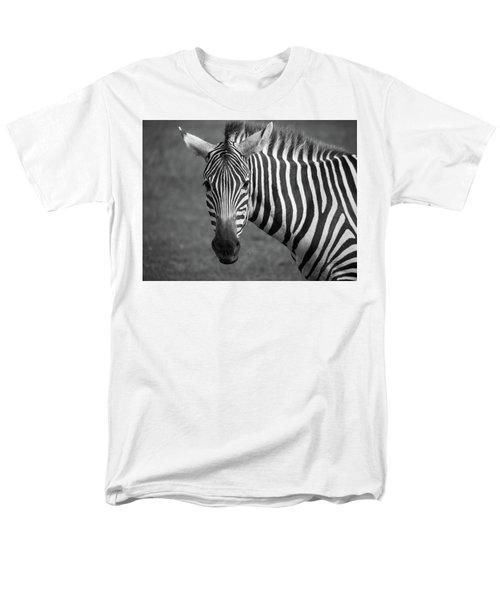 Men's T-Shirt  (Regular Fit) featuring the photograph Zebra by Trace Kittrell