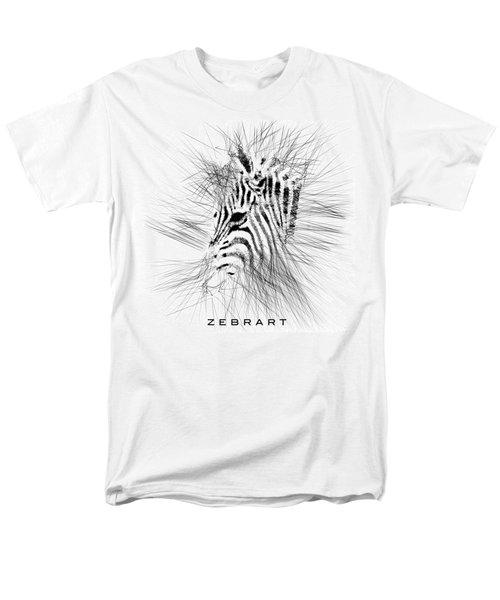 Zebrart Men's T-Shirt  (Regular Fit) by ISAW Gallery