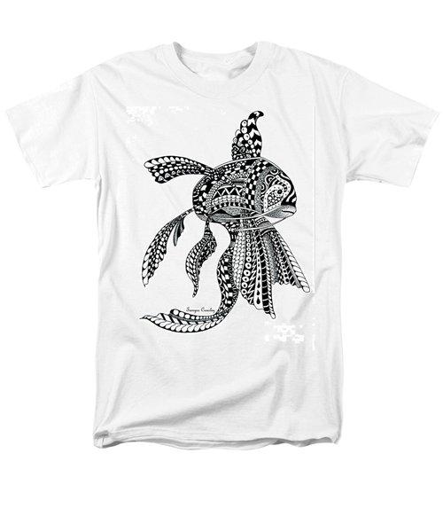 Zen Goldfish Men's T-Shirt  (Regular Fit)