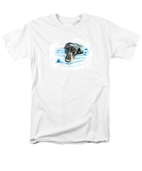 Men's T-Shirt  (Regular Fit) featuring the drawing Zeus by Mike Ivey