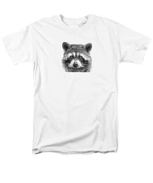 046 Zorro The Raccoon Men's T-Shirt  (Regular Fit) by Abbey Noelle