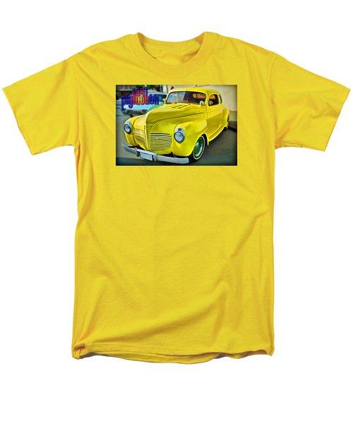 Men's T-Shirt  (Regular Fit) featuring the digital art 1941 Plymouth by Richard Farrington