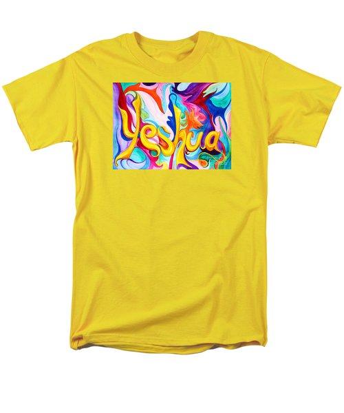 Yeshua Men's T-Shirt  (Regular Fit) by Nancy Cupp